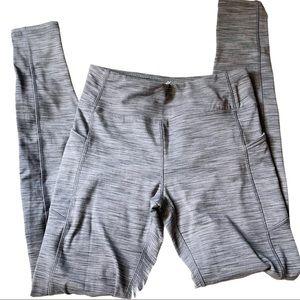Kyodan Gray Space Dye Leggings with Pockets Small